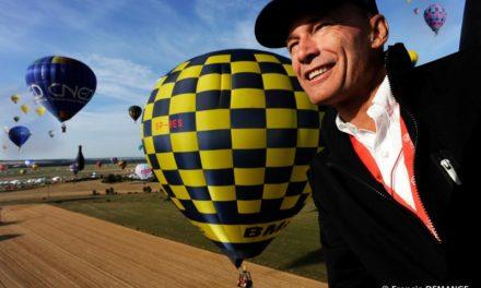 "EXCLUSIF : Bertrand Piccard au ""Mondial Air ballons"""