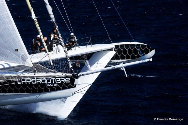 REPORTAGE EXCLUSIF – L'Hydroptère : Version Pacifique