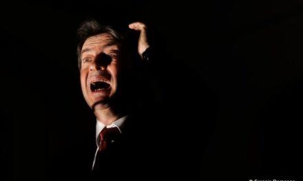 """Jean-Luc Mélenchon, le """"rebelle"""" des Présidentielles 2012."""