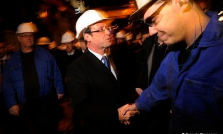 Présidentielle 2012 : A Gandrange, François Hollande et Martine Aubry, sur la piste des promesses de Sarkozy.