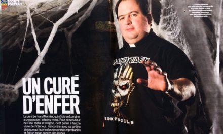 UN CURÉ D'ENFER. (4 Pages Magazine VSD N°2064 du 16 au 22 mars 2017)
