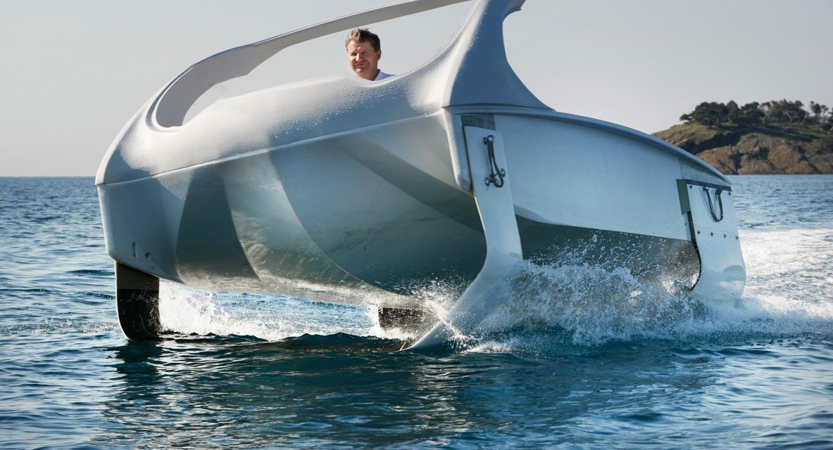 Sea Bubble  le bateau volant qui survolera la Seine et les fleuves du monde. En images les premiers essais du prototype Sea Bubble.