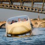 Le Sea Bubble entre en Seine