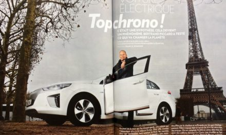 Bertrand PICCARD a testé ce qui va changer la planète. Top chrono !     PARIS MATCH du 12 au 18 avril 2018 (6 pages)