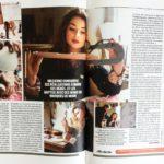 """""""SON VIOLON D'INGRES"""" – Mazarine Carbonare est la plus jeune luthière du monde. Portrait  – Magazine VSD du 3 au 9 mai 2018 / N°2123"""