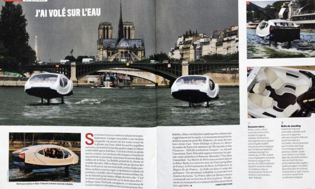 """""""J'ai volé sur l'eau» -Magazine 01 Net du 6 au 20 juin 2018"""