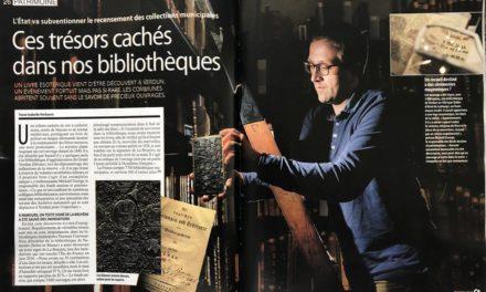 """""""Ces trésors cachés dans nos bibliothèques"""". Mystère d'un livre à Verdun."""