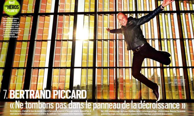 """Bertrand Piccard : """"Ne tombons pas dans le panneau de la décroissance"""" Paris Match du 21 au 28 avril 2021. N° 3755"""